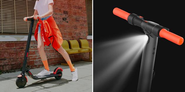 Segway Ninebot выпустила ультрадоступный электросамокат ES1L с запасом хода 20 км