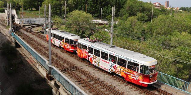 Достопримечательности Волгограда: волгоградский метротрам