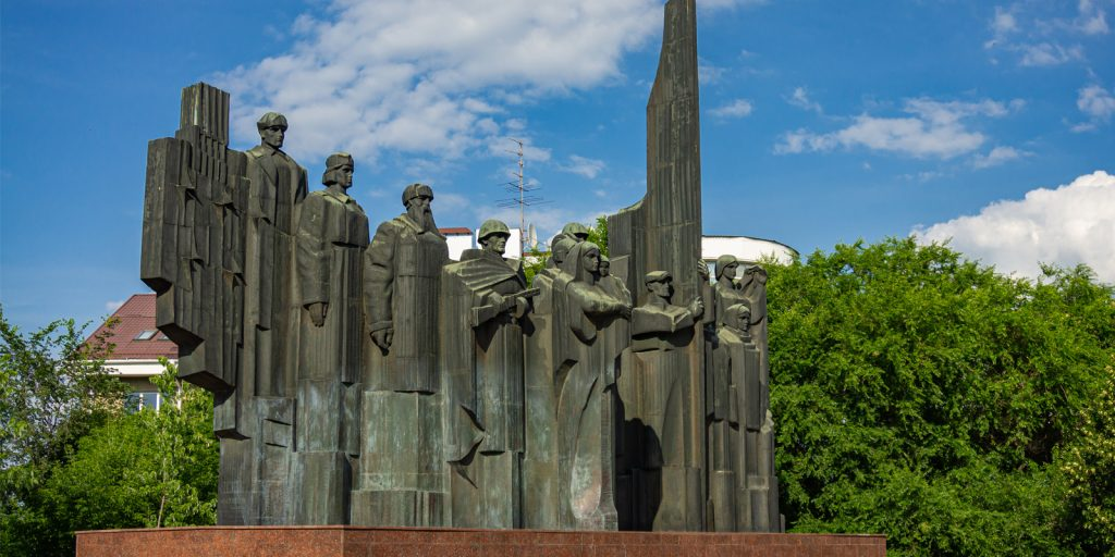 Площадь Победы в Воронеже