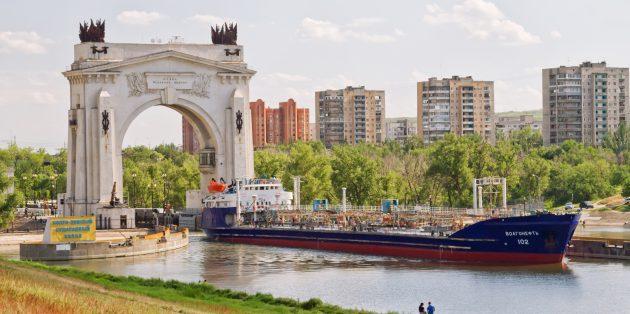 Что посмотреть в Волгограде: Волго‑Донской судоходный канал