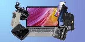 Всё для мужика: видеорегистратор, лазерный уровень и спортивные перчатки