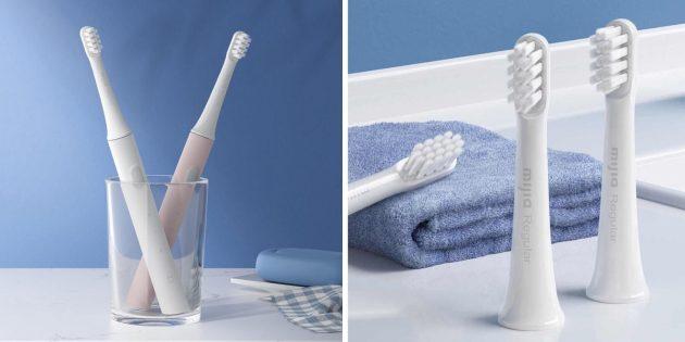 электрические зубные щетки: Xiaomi Mijia T100
