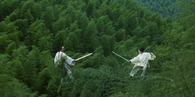 "Films about martial arts: ""Crouching Tiger, Hidden Dragon"""