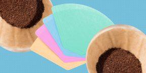 10 неожиданных способов использовать бумажные фильтры для кофе