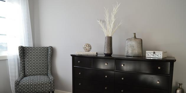 Ремонт спальни: используйте минимум мелких деталей