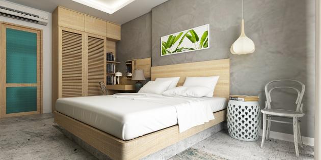 Ремонт спальни: продумайте места для хранения