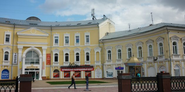 Достопримечательности Астрахани: улица Кирова