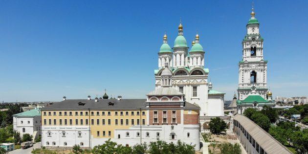 Достопримечательности Астрахани: Астраханский кремль