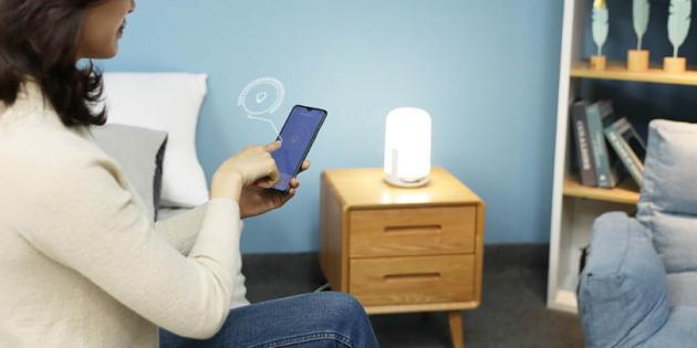 Xiaomi выпустила безопасную для зрения ночную лампу. Она не излучает синий свет