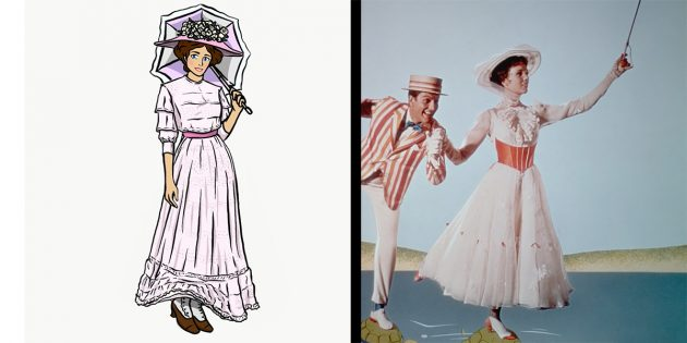 Киноляпы в нарядах: так могла бы выглядеть Мэри Поппинс