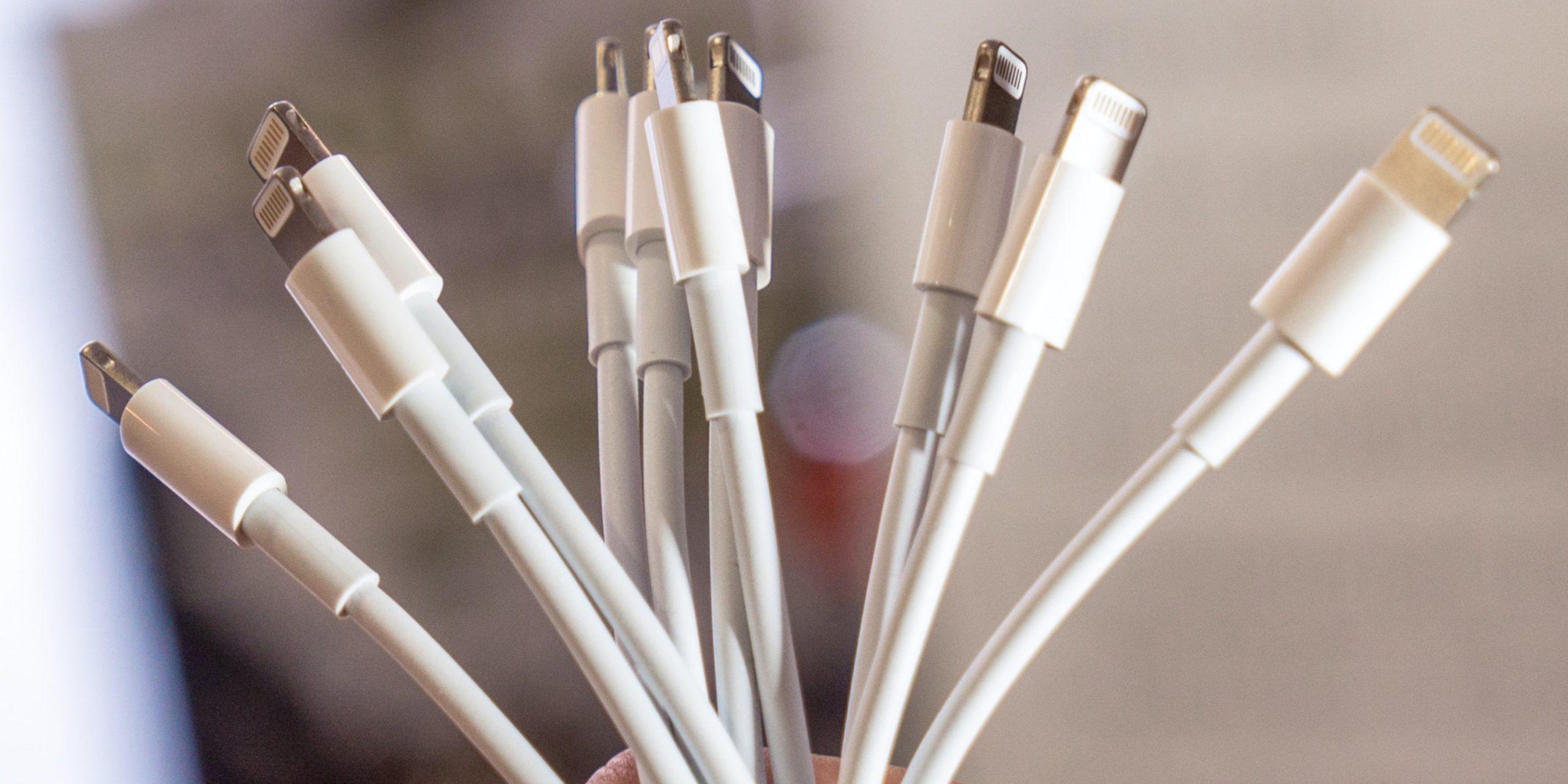 Apple наконец-то заменит хрупкие кабели Lightning на более прочные. Уже есть живые фото