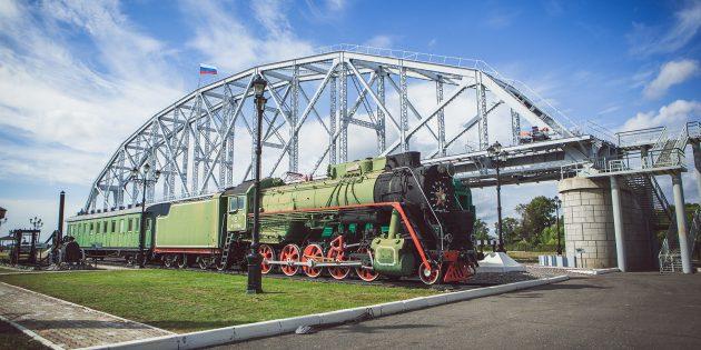 Достопримечательности Хабаровска: музей истории Амурского моста
