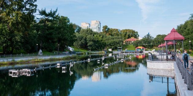 Городские пруды Хабаровска