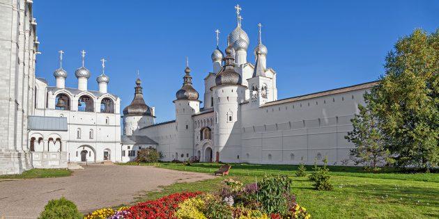 Достопримечательности в округе Ярославля: Ростовский кремль