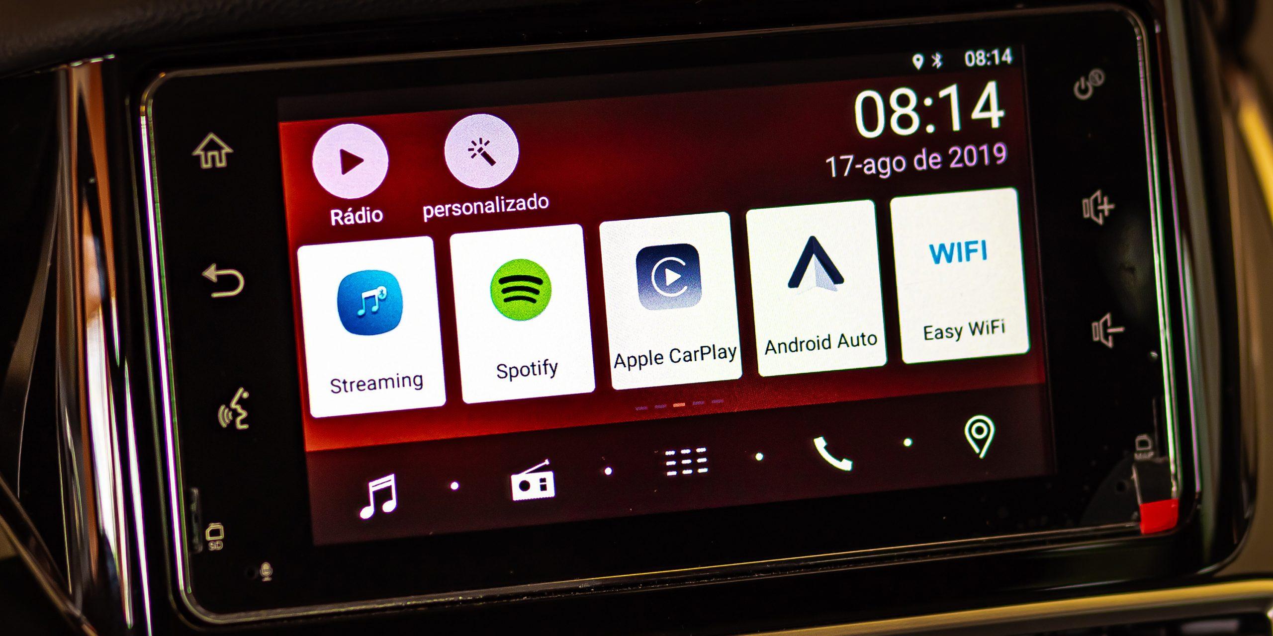 Spotify в машине