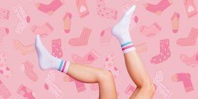 Тренировка дня: дикая интервалка в носках