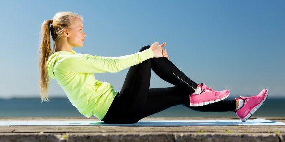 Тренировка дня: качаем мышцы без прыжков и одышки