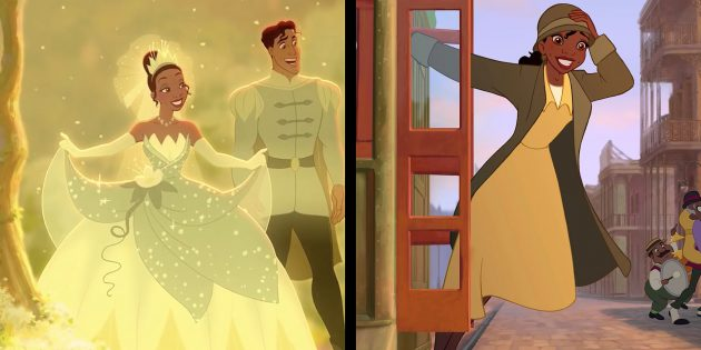 «Принцесса и лягушка»: Тиана