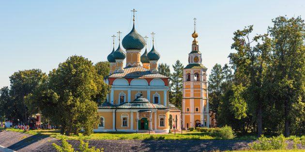 Что посмотреть в округе Ярославля: ансамбль Угличского кремля