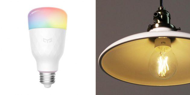 Что подарить другу на день рождения: умная лампочка