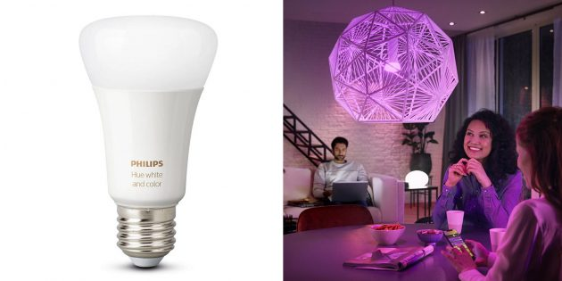 Умные лампочки: Philips Hue