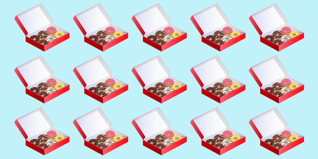 Головоломка про пончики
