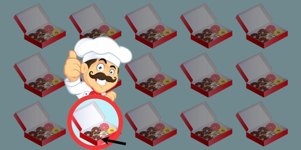 Головоломка про пончики: ответ