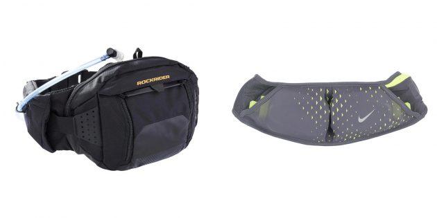 Подарки другу на день рождения: поясная сумка для бега