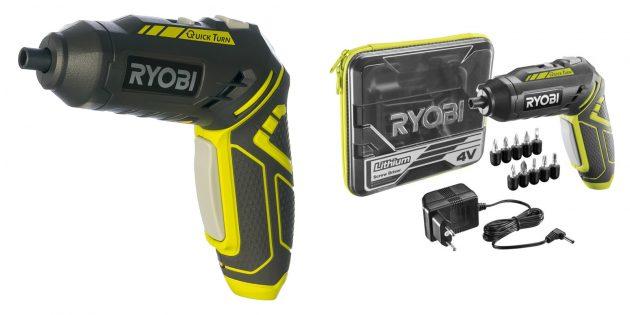 Электрические отвёртки: Ryobi R4SDP-L13T