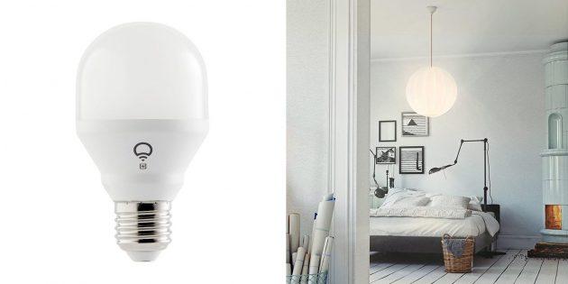 Умные лампочки: LIFX Mini White E27 (L3A19MW08E27)