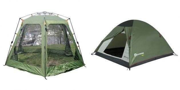 Что подарить другу на день рождения: палатка