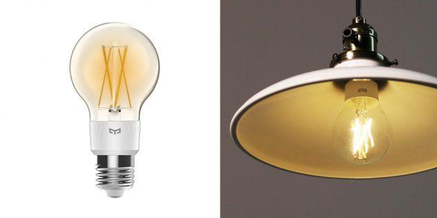 Умные лампочки: Yeelight Smart LED Filament Light