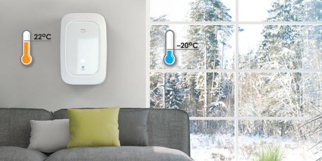 свежий воздух в городе: если на улице холодно, комплексы BREZZA подогреют воздух