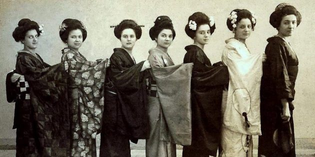 Не все гейши — японки