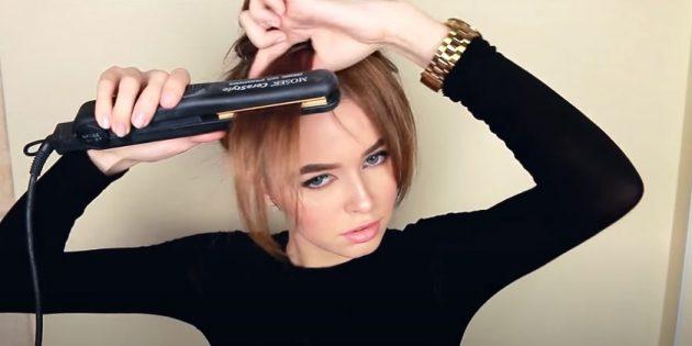 Причёски для круглого лица: придайте чёлке форму