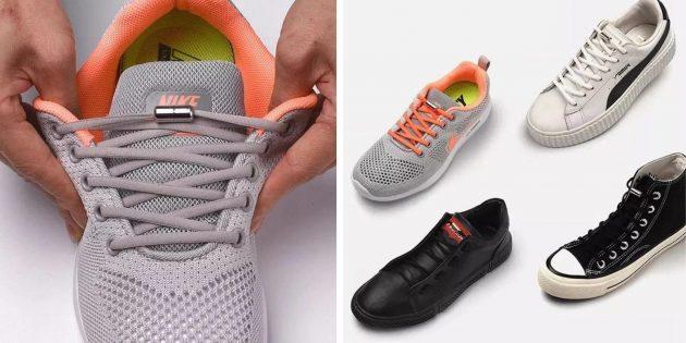 Шнурки на магните
