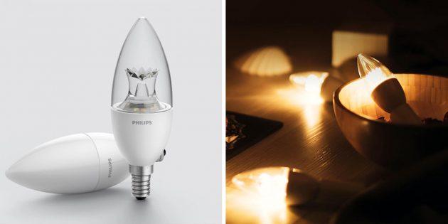 Умные лампочки: Xiaomi Philips RuiChi Bulb
