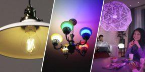 8 умных лампочек с AliExpress и из других магазинов