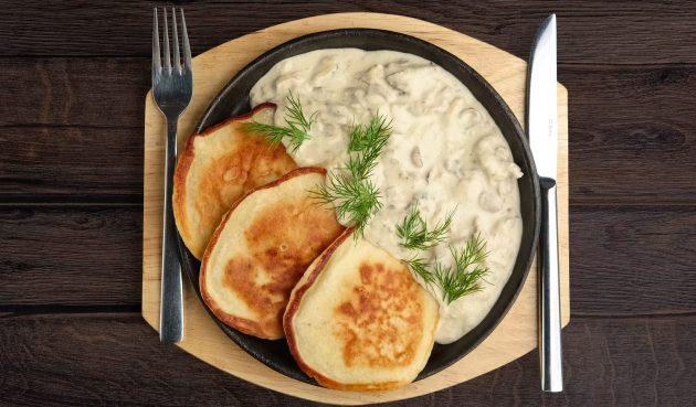 Соус из белых грибов