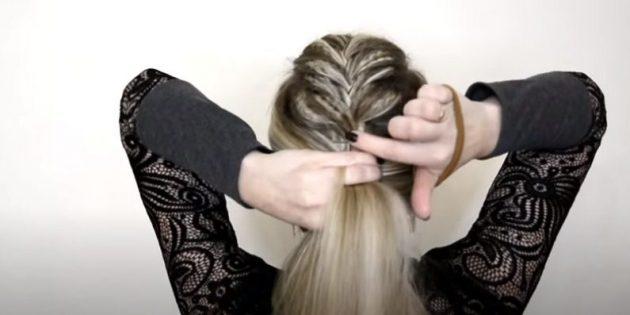 Женские причёски для круглого лица: соберите волосы в высокий хвост