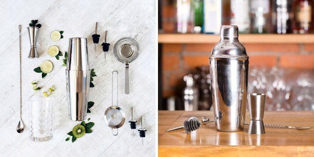 Что подарить другу на день рождения: набор для приготовления коктейлей