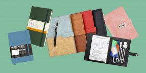9 классных записных книжек, блокнотов и ежедневников