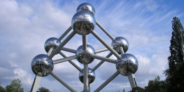 необычная современная архитектура: «Атомиум»