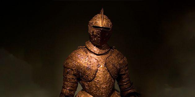 Рыцари Средневековья носили не такие уж тяжёлые доспехи