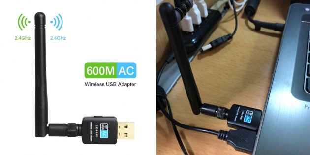 USB-адаптер Wi-Fi 802.11ac