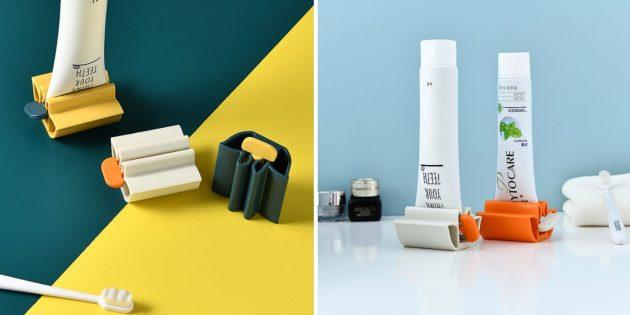Выдавливаетель-подставка для зубной пасты
