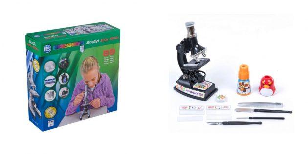 Что подарить девочке на день рождения на 7лет: микроскоп