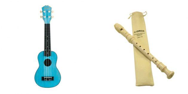 Что подарить девочке на день рождения на 7лет: музыкальный инструмент
