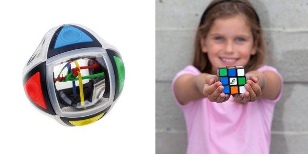 Подарки девочке на день рождения на 7лет: головоломка