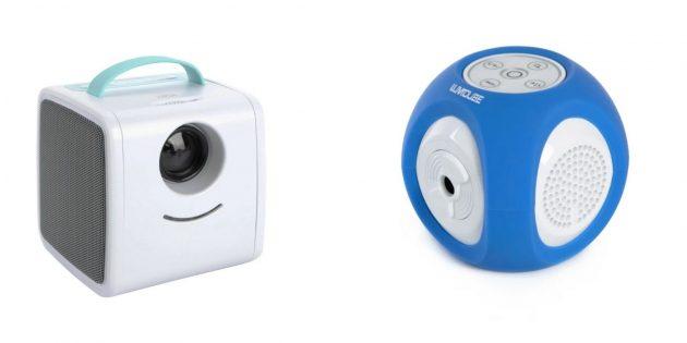 Подарки девочке на день рождения на 7лет: мини-проектор